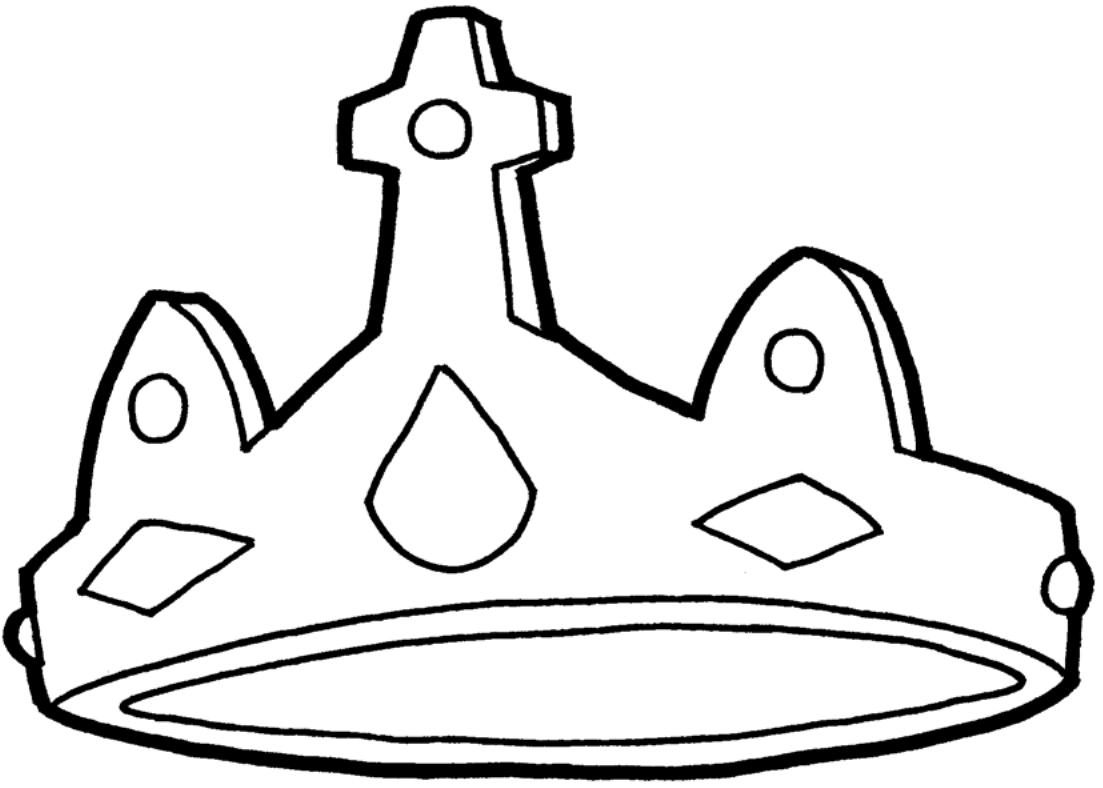 Clipart Victors Crown BW (1)-1