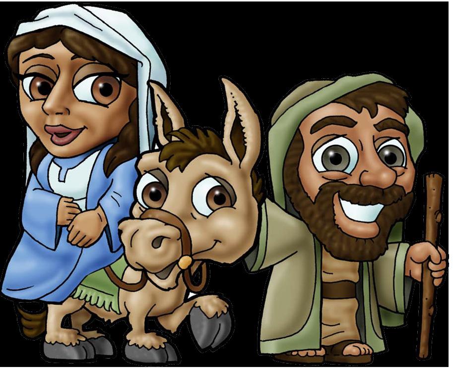 القديسة العذراء مريم والقديس يوسف النجار