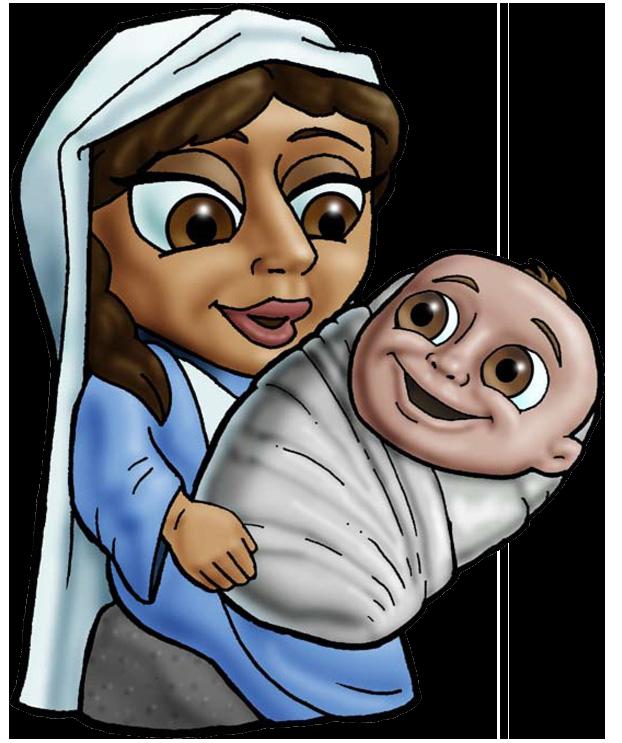القديسة العذراء مريم والطفل يسوع