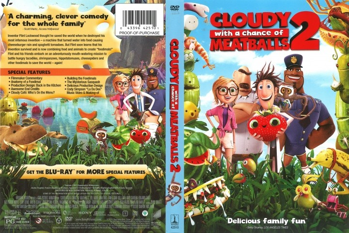 Cloudy with aChance of Meatballs 2